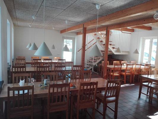 Der Speisesaal des Gästeheims