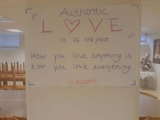 Liebe - ein wichtiges Leitmotiv der Caritas