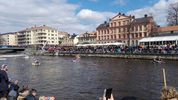 Flossrennen an Valborg