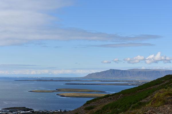 Die Natur in Island ist einzigartig