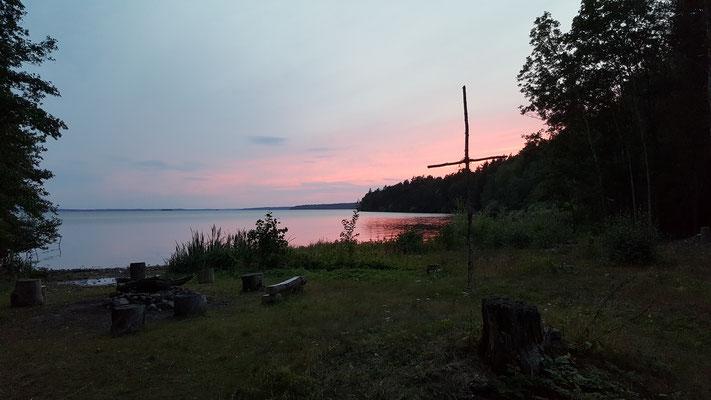 Sonnenuntergang in Marieudd