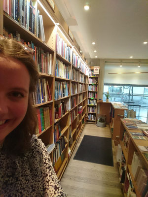 Arbeit im Buchladen