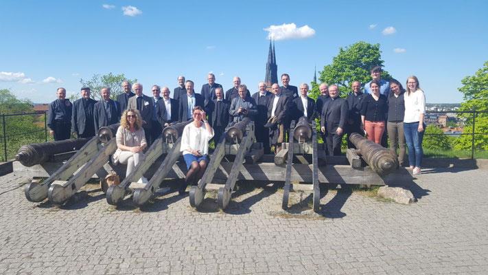 Besuch der deutschsprachigen Generalvikare in Uppsala