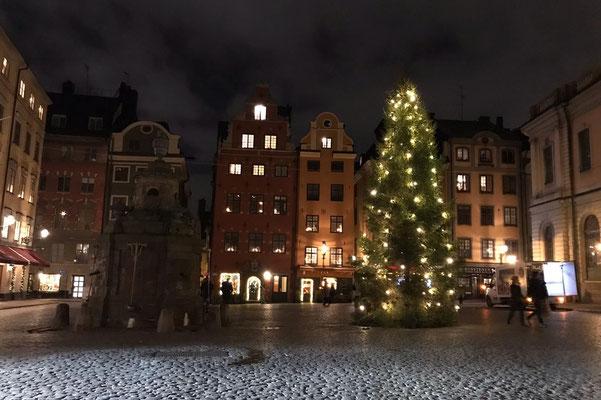 Weihnachtliches Stockholm