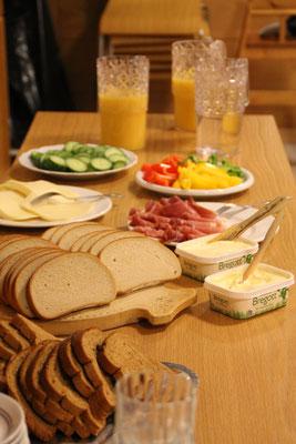 Das Abendessen ist vorbereitet....