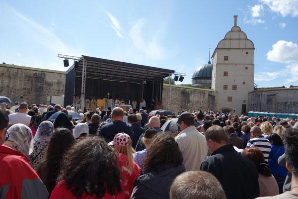 Messe zur Bistumswallfahrt in Vadstena