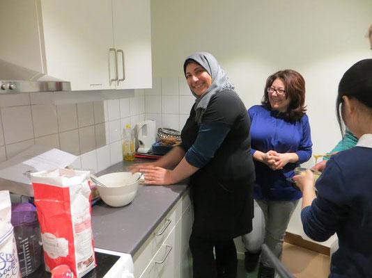 Gemeinsam in der Küche