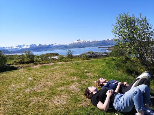 Entspannung in Norwegens Natur