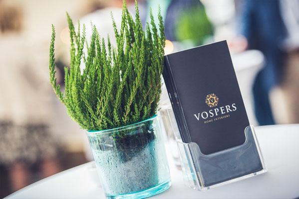 Erstellung von Broschüren für Vospers Home Interiors