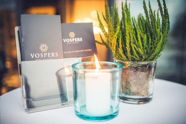 Erstellung von Flyern & Broschüren für Vospers Home Interiors