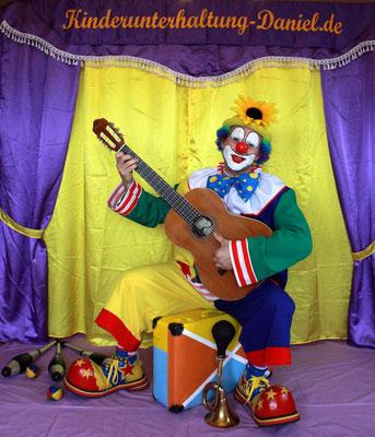 Kinderunterhaltung, Clown Ferdi,  Zauberer aus Sachsen, Zauberclown
