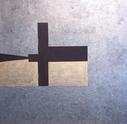 Nummer 1, ca. 50 x 50 cm