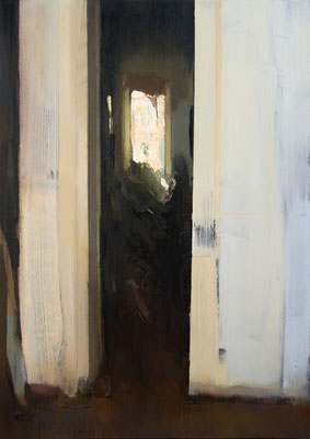 'Interior #126' Oil on wood, 50 x 35 cm. *SOLD*