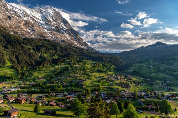 Grindelwald mit Eiger Nordwand