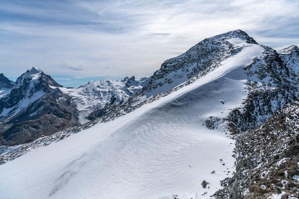 Aussicht vom Corvatsch (3303 müM)