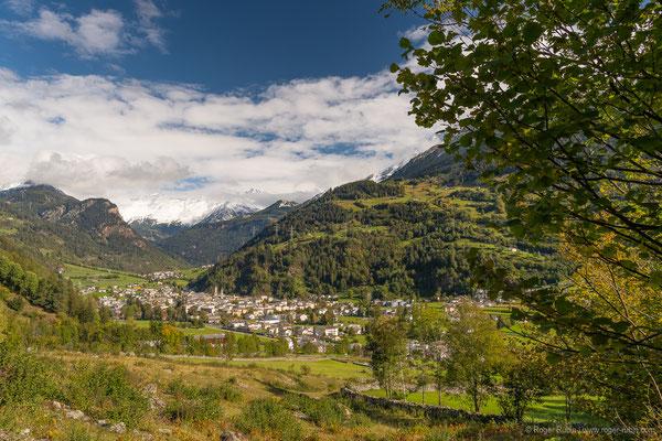 Von Poschiavo Richtung Bernina-Pass