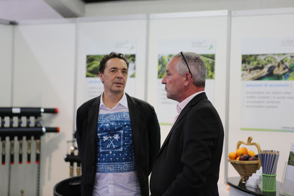 Solar hoch 2 - Ticino Impiantistica in Giubiasco 2019 - Claudio Manni (nostro rappresentante in Ticino) e Markus Jurt