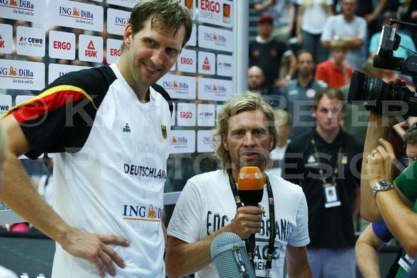 Dirk Nowitzki beim ZDF