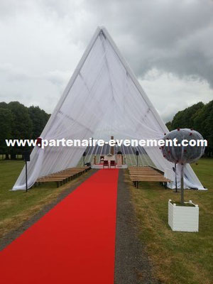 Structure tepee 10x15