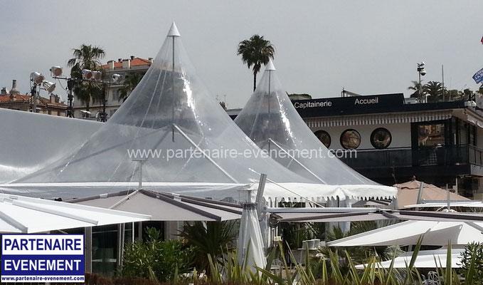 Garden 5x5 toit cristal à Cannes