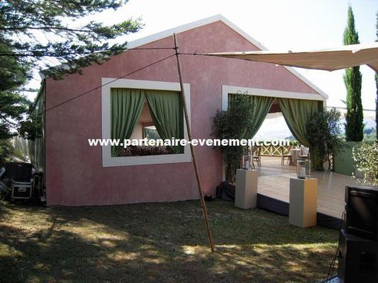 Habillage extérieur tente