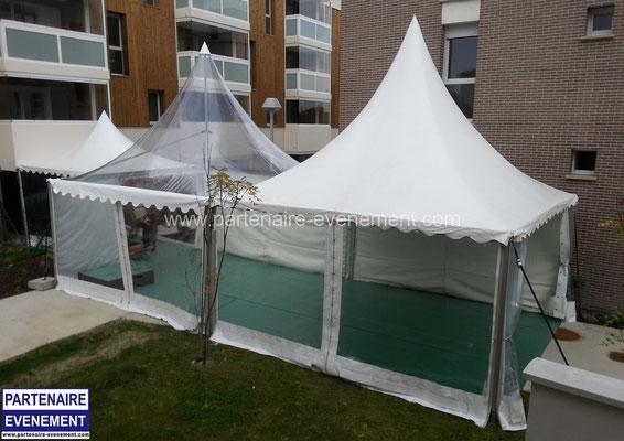 Garden 5x5 toit cristal