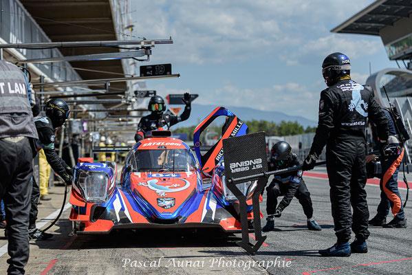 ELMS Barcelone ; SRT41 ; Nigel Bailly ; Takuma Aoki ; Pierre Sancinena ; LMP2 ; Frederic Sausset