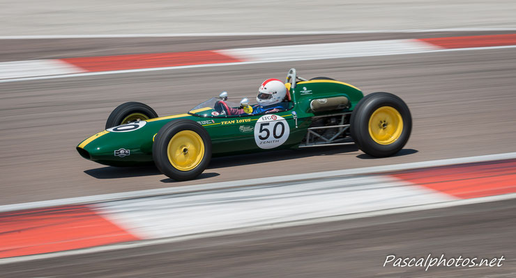 Lotus F3 grand prix age d'or vhc racing