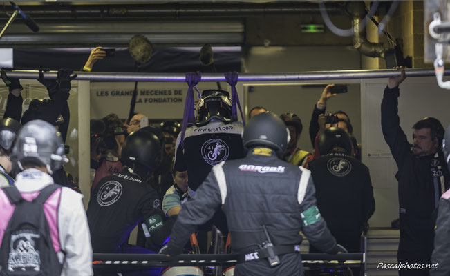 SRT41 , Frederic Sausset ,24 Heures du Mans 2016