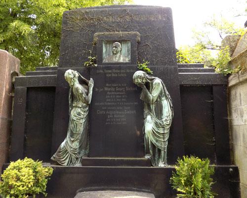 Grabmal Siebert Johannisfriedhof Dresden Bild: Susann Wuschko