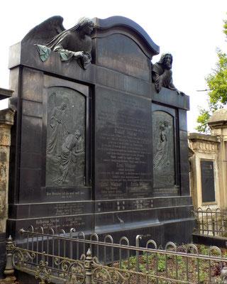 Grabmal Familie Wägner Johannisfriedhof Dresden Bild: Susann Wuschko