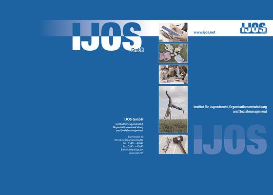 Mappen für Schulungsmaterial der IJOS GmbH