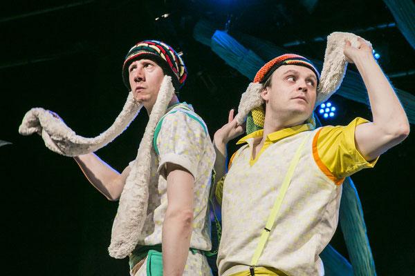 Der Reggaehase Boooo | Regie: Inda Buschmann | Theater Erlangen | © Jochen Quast