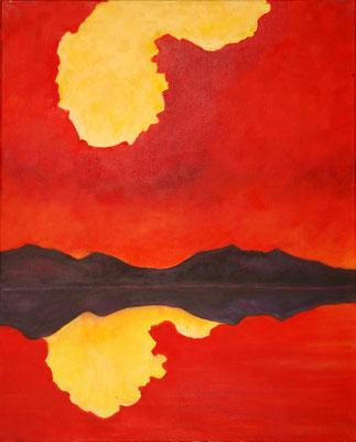 """""""Traumland"""", Öl/Lw., 80 x 65 cm"""
