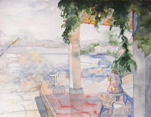 """""""Mallorca"""", Aquarell, 41 x 46 cm"""