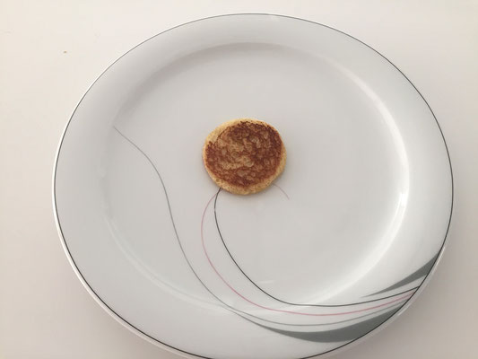 Toast anrichten
