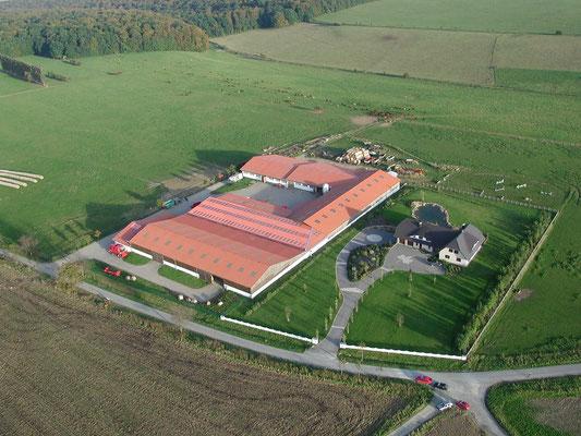 Die neue Hofanlage 2001