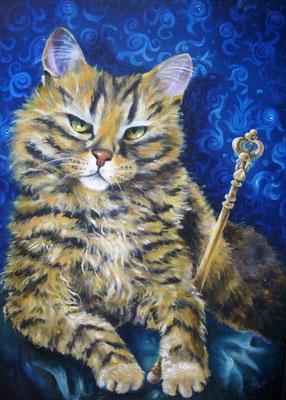 King of all cats 50x70