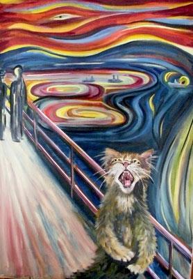 Hommage à Munch, Schrei