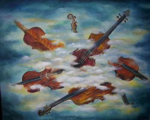 Ein Himmel voller Geigen 80x100