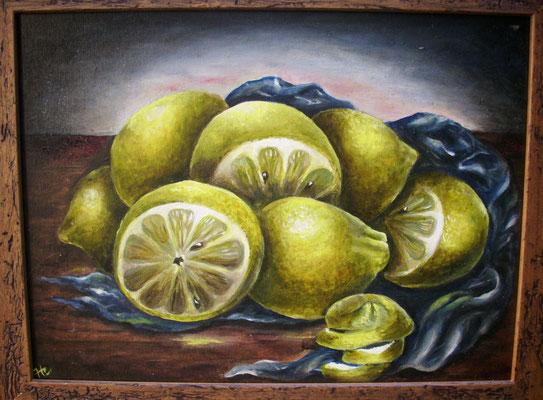 Zitronen 30x40