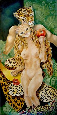 Hommage à Klimt, Adam et Eve