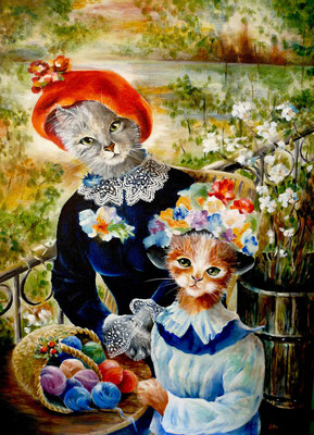 Hommage à Renoir 50x70