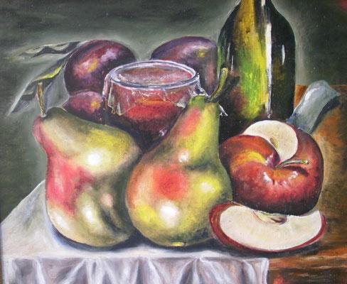 Obst und Wein 38x46