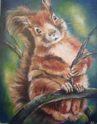 L'écureuil pour Frederique