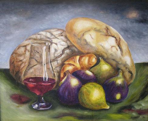 Brot und Wein 38x46
