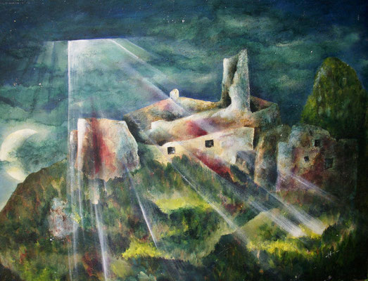 Ruine Hohenberg 50x70