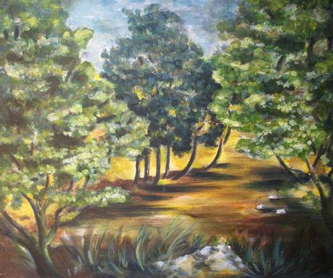 Landschaft2 50x60