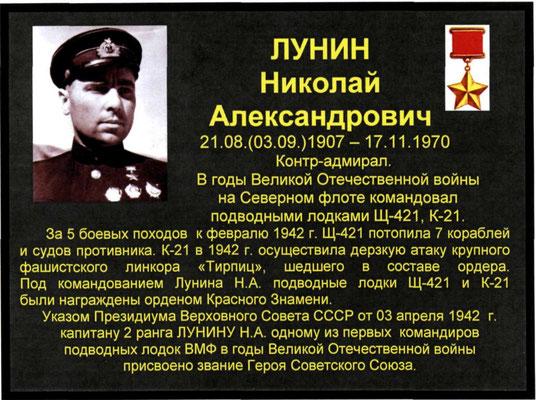 Николай Лунин