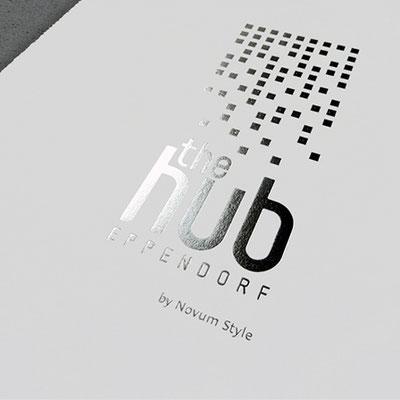 Namen- und Logoentwicklung + Corporate Design Exposé